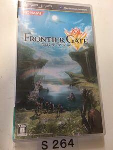 フロンティア ゲート SONY PSP プレイステーション ポータブル PlayStation ソフト 動作確認済 ゲーム 中古 コナミ