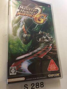 モンスター ハンター ポータブル 2nd G PSP CAPCOM SONY プレイステーション ポータブル PlayStation ソフト 動作確認済 中古