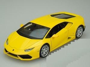 1/24 ランボルギーニ ウラカン 黄色 イエロー Lamborghini Huracan LP 610-4 metalic yellow 2014 1:24 Maisto 梱包サイズ60