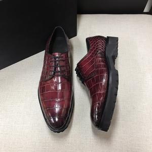 ワニ革保証 24~27cm クロコダイル レザー 本革 ビジネス メンズシューズ スリッポン 滑止 モカシン ローファー 四季通用 紳士靴 紐靴革靴