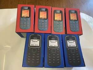 新品未使用 NOKIA 100 , 1280 GSM MOBILE PHONE 7台