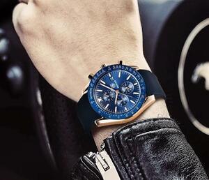腕時計 メンズ腕時計 ファッション カジュアル ビジネス 多機能 クロノグラフ 防水 日付表示 904sd