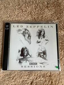 良品 CD Led Zeppelin BBC SESSIONS 2枚組 ライブ 輸入盤 レッド ツェッペリン ロバート プラント ジミー ペイジ 送料無料