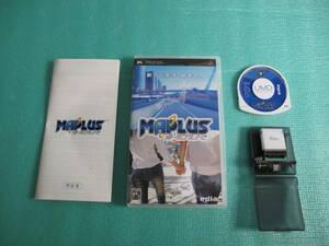 PSP MAPLUS ポータブルナビ (GPSレシーバー同梱版)