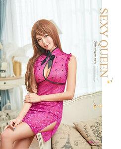 z2261 ハロウィン コスプレ チャイナドレス コスチューム ミニ チャイナ服 衣装 セクシー