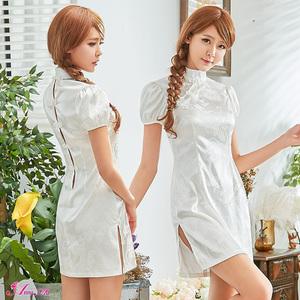 z2318 ハロウィン コスプレ チャイナドレス コスチューム ミニ チャイナ服 衣装 セクシー