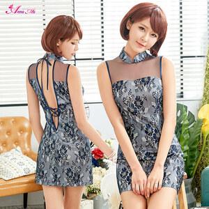 z2267 ハロウィン コスプレ チャイナドレス コスチューム ミニ チャイナ服 衣装 セクシー