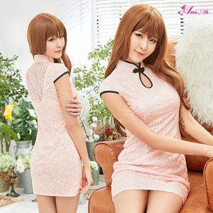 z2281 ハロウィン コスプレ チャイナドレス コスチューム ミニ チャイナ服 衣装 セクシー