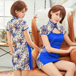 z2265 ハロウィン コスプレ チャイナドレス コスチューム ミニ チャイナ服 衣装 セクシー