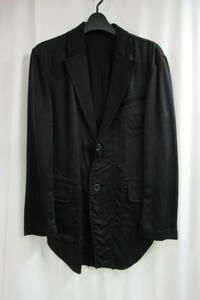 Y's for men yohji yamamoto 燕尾デザインシャツジャケット MY-J40-216