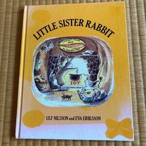 LITTLE SISTER RABBIT 英文絵本