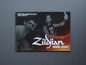 【カタログのみ】Zildjian 2013-2014 SELECTION GUIDE CYMBALS & DRUMSTICKS 検 YAMAHA ジルジャン ドラム シンバル ドラムスティック