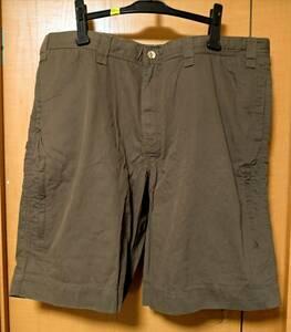 状態美品 Eddie Bauer 6ポケット 紐付き ショートパンツ サイズ40 大きい ハーフパンツ 短パン ビッグサイズ 半ズボン エディ・バウアー