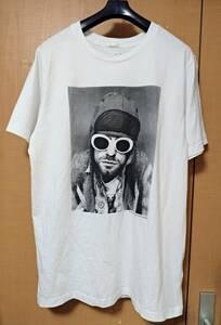 新品未着 NIRVANA Kurt Cobain Tシャツ L カットソー カート・コバーン ニルヴァーナ ニルバーナ カート・コバーン
