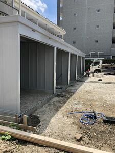 レンタルガレージ。イナババイク保管庫2630H三河刈谷駅徒歩2分圏内。防犯カメラ、敷地広々。快適バイクライフ応援。