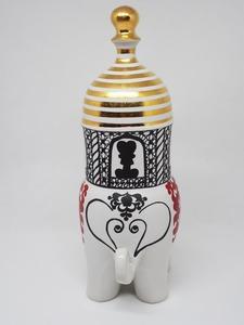 【超希少品】リサラーソン トラフィックシリーズ ゾウ 象 グスタフスベリ Lisa Larson TRAFFIC Elephant GUSTAVSBERG