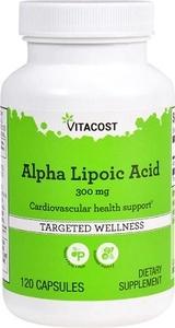 Vitacost アルファリボ酸 300mg 120カプセル