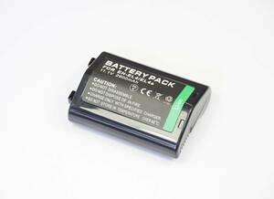 【Nikon EN-EL4 / EL4A】ニコン★2800mAh 互換バッテリー PSE認証 保護回路内蔵 バッテリー残量表示可 リチウムイオン充電池