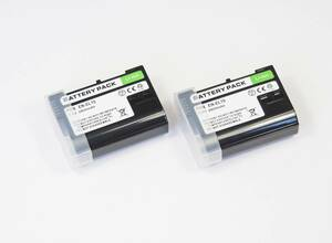 2個セット【EN-EL15】ニコン★2800mAh 互換バッテリー PSE認証 保護回路内蔵 バッテリー残量表示可 リチウムイオン充電池