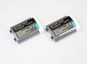 2個セット【Nikon EN-EL18/18A/18B/18C】ニコン★3000mAh 互換バッテリー PSE認証 保護回路内蔵 バッテリー残量表示 リチウムイオン充電池