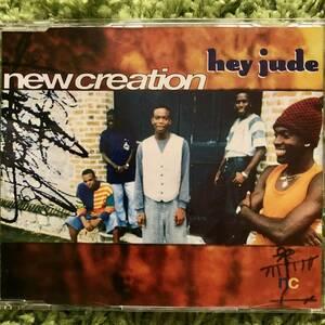 【CD Single】New Creation/Hey Jude Germany盤