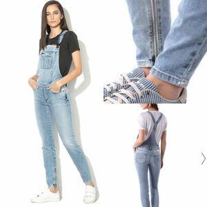 新品タグ付 国内正規品 DIESEL S ディーゼル jogg jeans ストレッチ スキニー オーバーオール サロペット デニム