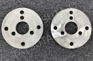 new goods immediate payment wheel spin na- for spacer 19.5 -inch *22.5 -inch for thickness 7mm 2 pieces set stainless steel deco truck retro S0492D