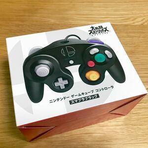 任天堂純正品 ニンテンドー ゲームキューブ コントローラ スマブラブラック