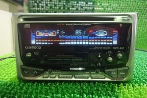 .psi. подлинная вещь старый машина Kenwood DPX-410 CD. кассета ресивер утиль