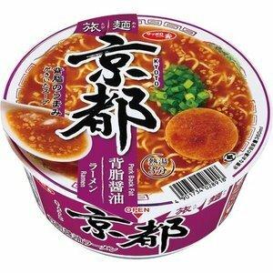 【サンヨー食品】 旅麺 京都 背油醤油ラーメン 1ケース 12入り