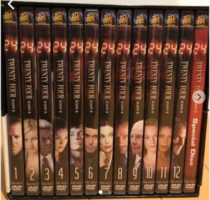 DVD TWENTY FOUR