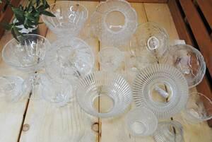 ku204 tableware /16 point set / Western-style tableware / glass plate / deep plate / peak plate / simple / summer / vermicelli /.../. customer / stylish / set sale