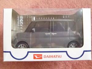 ダイハツタントのプルバックカー【非売品・TANTO・未使用・未開封・ダークシルバーメタリック・DBA-LA600S(610S)】