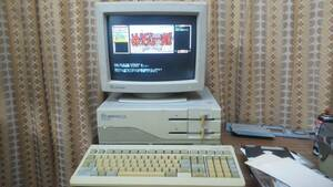 NEC PC-9801RX パソコン 実働