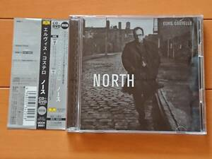 DVD付限定盤! 美品! 送料込 2003年帯付CD エルヴィス・コステロ Elvis Costello「ノース/ North」(UCCH9001)ボーナストラック付,Bob Ludwig