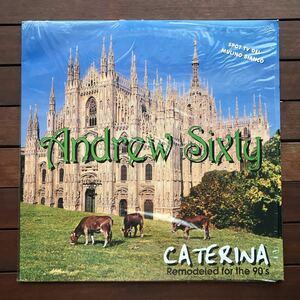 ●【r&b】Andrew Sixty / Caterina[12inch]オリジナル盤《9595》《1-2》