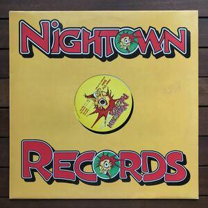 ●【eu-rap】New City State / Uptight (It's Allright)[12inch]オリジナル盤《1-4》nightown レーベル