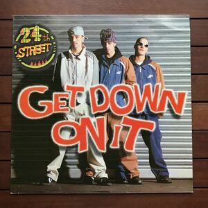 ●【eu-rap】24th Street / Get Down On It[12inch]80's _ kool & the gang / get down on itカバー_オリジナル盤《2-1-22》