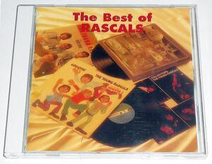 日本独自編集 20曲収録盤『The Best of the Rascals』伝説のブルーアイド・ソウル,ラスカルズのベスト★65~69年にヒット連発