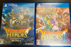 ドラゴンクエストヒーローズ 1.2 PS4 2本セット