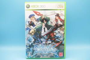 X-BOX ブレイブルー コンティニュアム・シフト BLAZBLUE CONTINUUM SHIFT - Microsoft Xbox 360 game 805