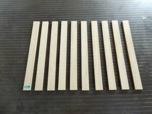 栗 材 (300×26×7)mm  10枚セット 乾燥済み 無垢一枚板  送料無料です。 [1137]  木材 くり クリ  板