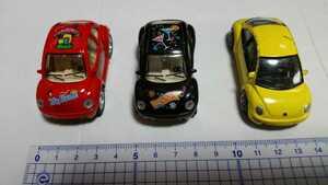 ミニカー プルバックカー 3台セット ジャンク品