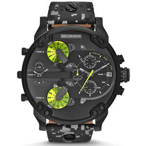 トップブランドの高級大型ダイヤル腕時計スポーツクォーツ時計メンズ腕時計防水ゴールド鋼腕時計軍事レロジオ Masculino