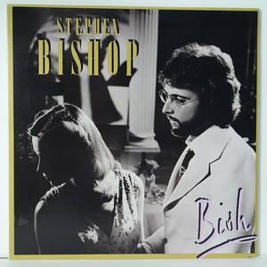 LPレコード 「水色の手帖」スティーブン・ビショップ (「Bish」STEPHEN BISHOP)