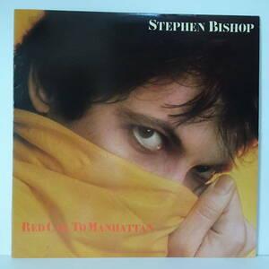 LPレコード 【エリック・クラプトン関連】 「哀愁マンハッタン」スティーブン・ビショップ (「Red Cab To Manhattan」STEPHEN BISHOP)