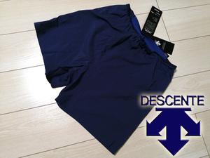 ◆◆新品 デサント DESCENTE 超軽量 ストレッチ インナー付き ランニングパンツ メンズ M ブルー GBLU 定価8,000円+税 送料無料 ジョギング