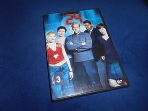 24 TWENTY FOUR SEASON ONE VOLUME3 輸入版DVD(邦題:24 TWENTY FOUR) 2枚組