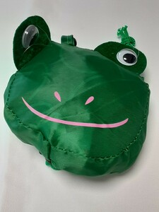 エコバッグ ショッピングバッグ レジ袋 マイバッグ カエル 蛙 FROG
