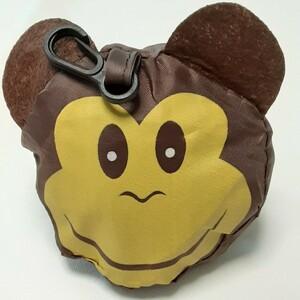 エコバッグ ショッピングバッグ レジ袋 マイバッグ サル さる 猿 MONKEY